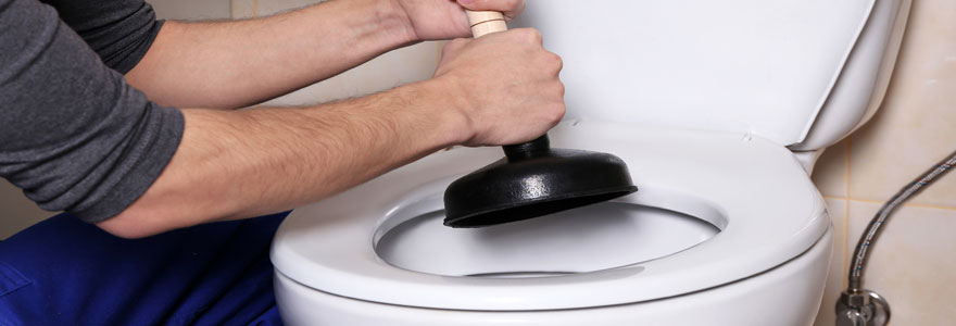 Débouchage de WC
